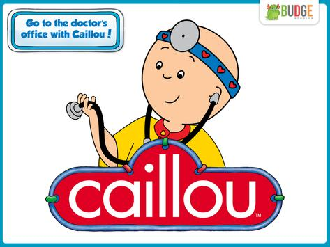 Caillou Check Up - Doctor poster