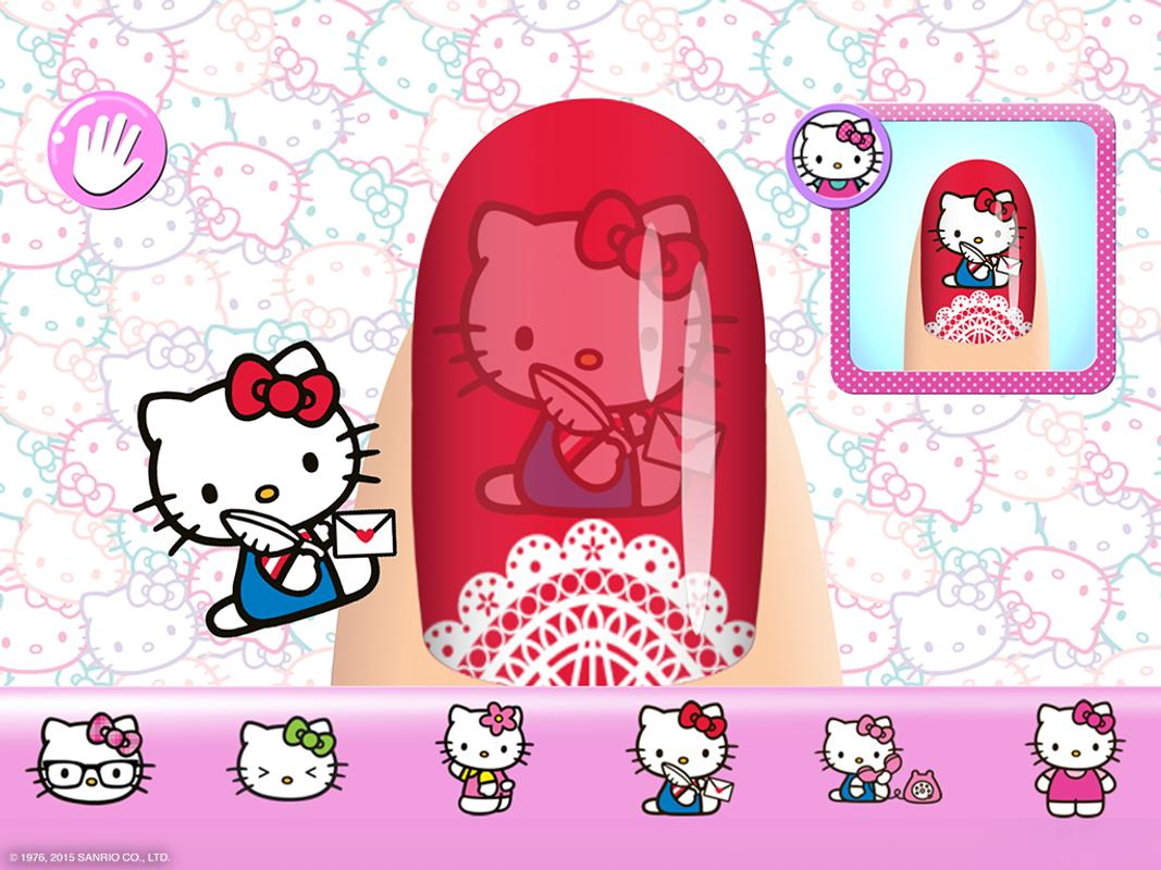 Hello Kitty Nail Salon Apk Download Free Casual Game For Android Apkpure Com