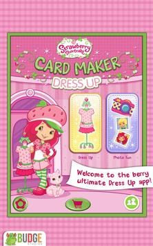 Strawberry Shortcake Dress Up poster