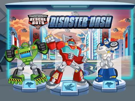 Poster Transformers Rescue Bots: Fuga dai disastri