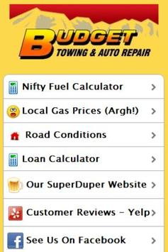 Budget Towing & Auto Repair screenshot 1