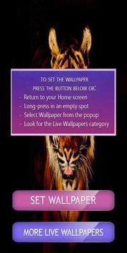 Tiger Live Wallpaper 2017 poster