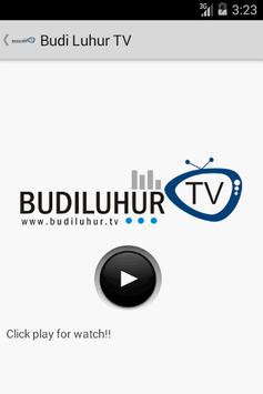 Budi Luhur TV apk screenshot