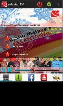 Radio Malaysia Kelantan FM poster