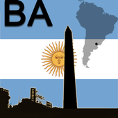 Buenos Aires Map icon