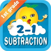 Subtraction - Math 1st grade icon