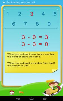 Subtraction - Math 1st grade screenshot 3