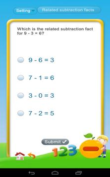 Subtraction - Math 1st grade screenshot 11
