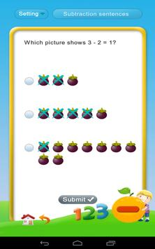 Subtraction - Math 1st grade screenshot 6