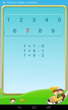 Subtraction - Math 1st grade screenshot 8