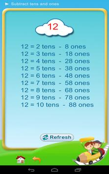 Subtraction - Math 1st grade screenshot 9
