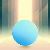 Swipe Rolling - Roll the ball in modern art icon