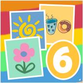 Найди 6 сходств icon