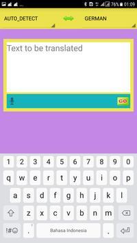 Dictionary GO screenshot 1
