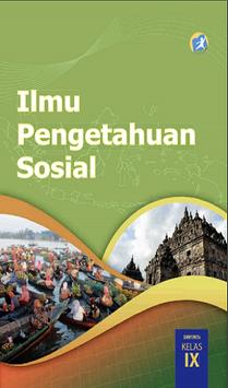 Buku IPS Kelas 9 Kurikulum 2013 poster