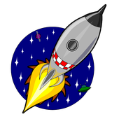 Coloring Book Kids Gravity Space icon
