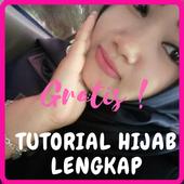 Tutorial Hijab Lengkap, Pashmina, Remaja & Modern icon