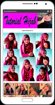 Tutorial Hijab Lengkap, Pashmina, Remaja & Modern screenshot 2