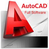 Book Basic Tutorial AutoCad icon