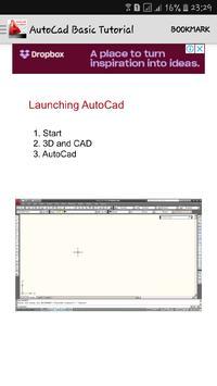 Book Basic Tutorial AutoCad screenshot 1