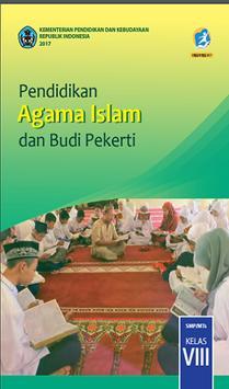 Buku PAI Kelas 8 Kurikulum 2013 poster