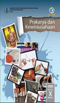 Buku Prakarya Kelas 10 Kurikulum 2013 poster