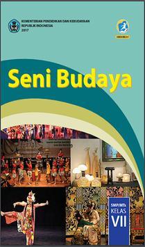 Buku Seni Budaya Kelas 7 Kurikulum 2013 poster