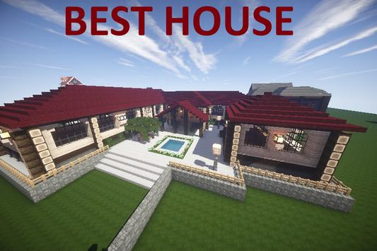 House Building Minecraft Mod poster