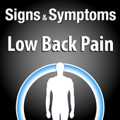 Signs & Symptoms Low Back Pain icon