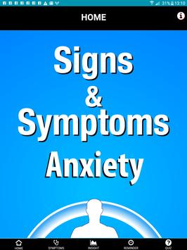 Signs & Symptoms Anxiety screenshot 8