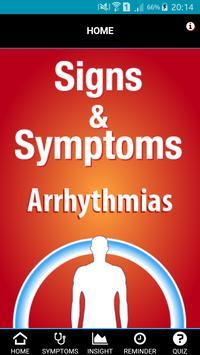 Signs & Symptoms Arrhythmia poster
