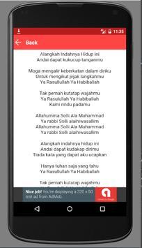 Lirik dan Sholawat Habib Syech apk screenshot