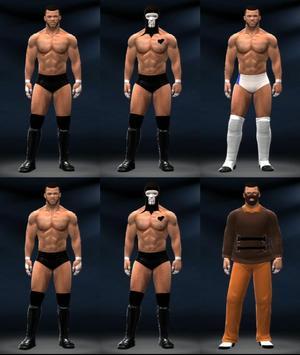 Build a WWE Man poster