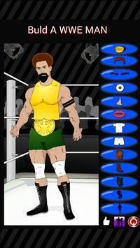 Build a WWE Man apk screenshot