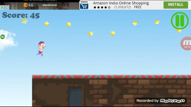 Angry Man Run apk screenshot