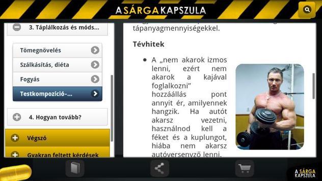 Sárga Kapszula apk screenshot
