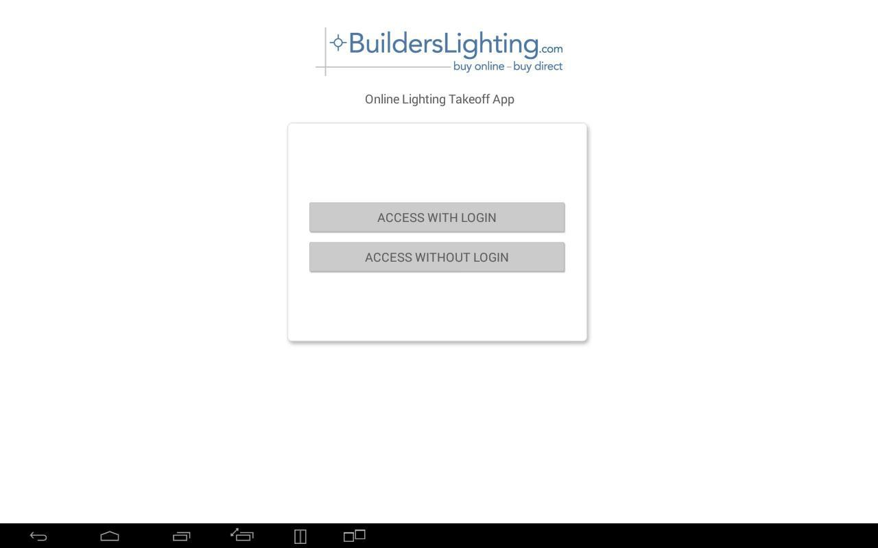 Builders Lighting Takeoff For Android