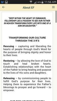 Emmanuel Fellowship apk screenshot
