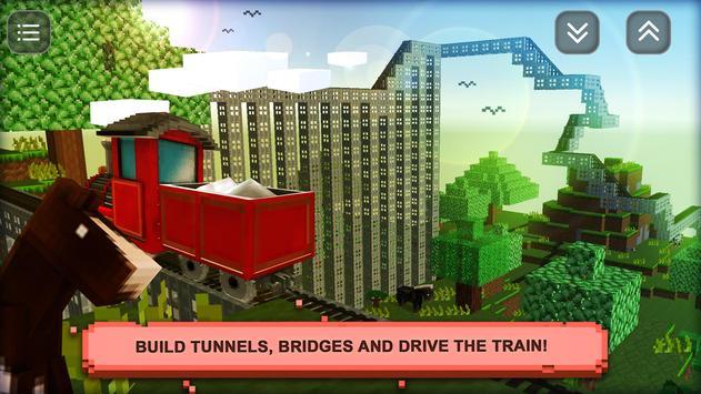 ट्रेन क्राफ्ट सिम: बिल्ड और apk स्क्रीनशॉट