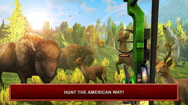USA Bow Hunter: Hunting games poster
