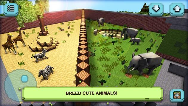 Zoo Tycoon Craft: My Wonder Animals apk screenshot