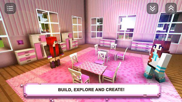 Girls Crafting & Building - Exploration Craft poster