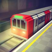 Subway Craft: Build & Ride icon