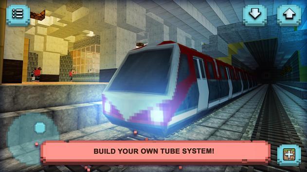 Subway Craft: Build & Ride apk screenshot