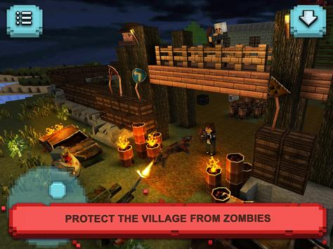 Zombie survival craft defense apk download free action for Zombie crafting survival games