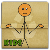 Learn to draw stick people icon