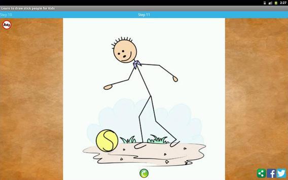 Learn to draw stick people screenshot 8