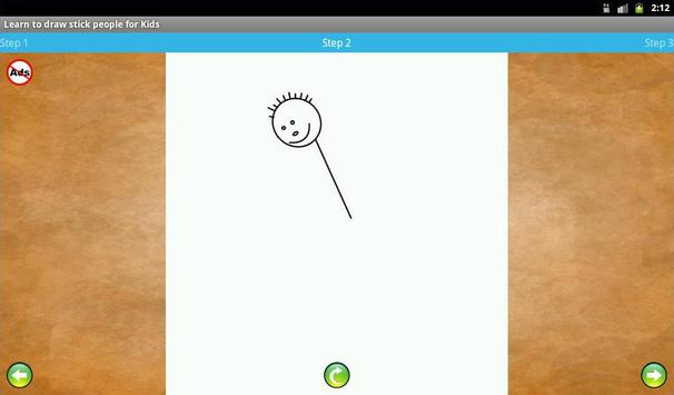 Learn to draw stick people apk screenshot