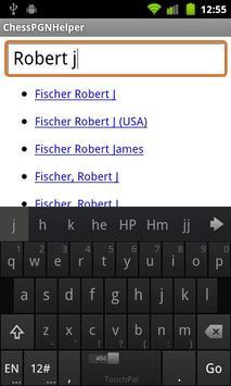 Chess PGN Helper screenshot 1
