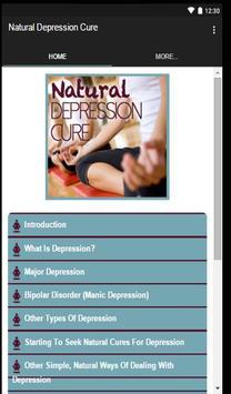 Natural Depression Cure screenshot 1